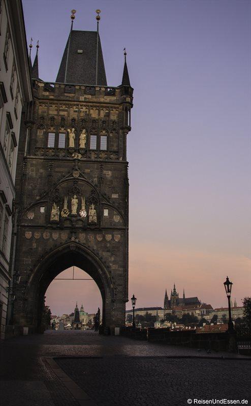 Altstädter Brückenturm an der Karlsbrücke