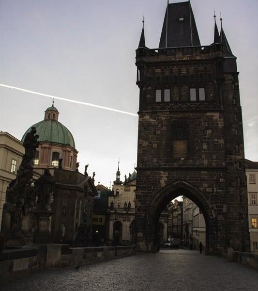 Altstädter Brückenturm von der Karlsbrücke