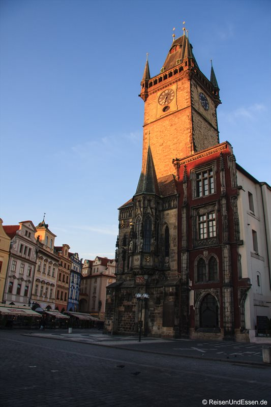 Rathaus am Altstädter Ring in Prag