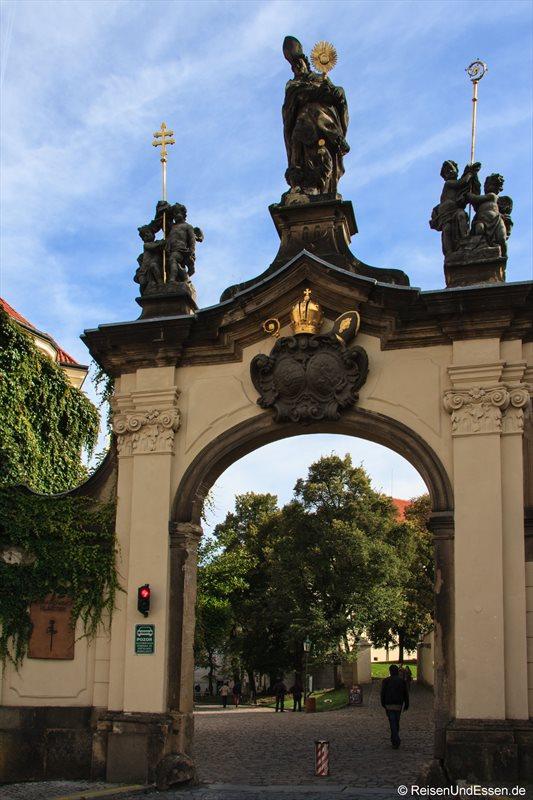 Eingang zum Kloster Strahov