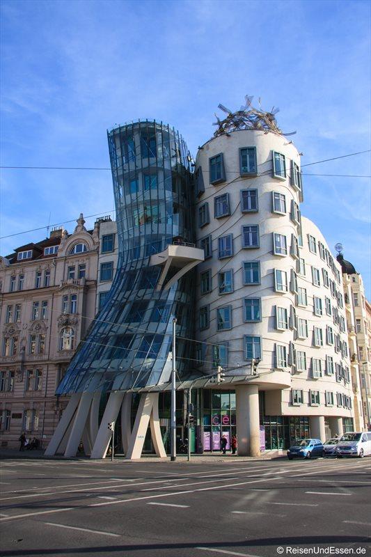 Tanzende Häuser (Ginger und Fred) in Prag