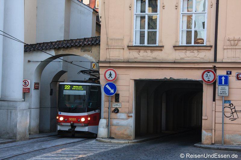 Straßenbahn in der Letenska