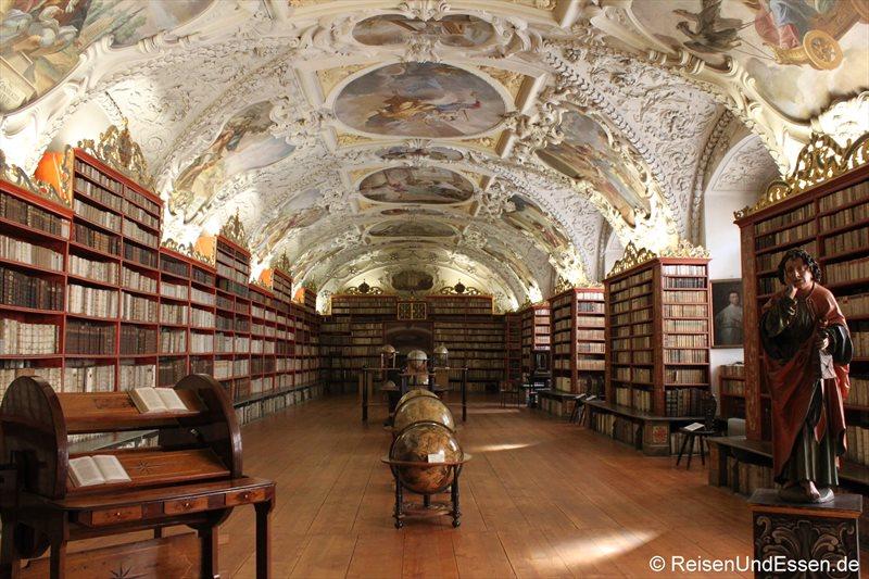 Theologischer Saal in der Bibliothek im Kloster Strahov