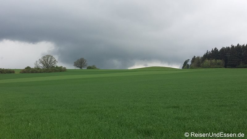 Kurz vor dem Regen auf dem Magdalenenberg
