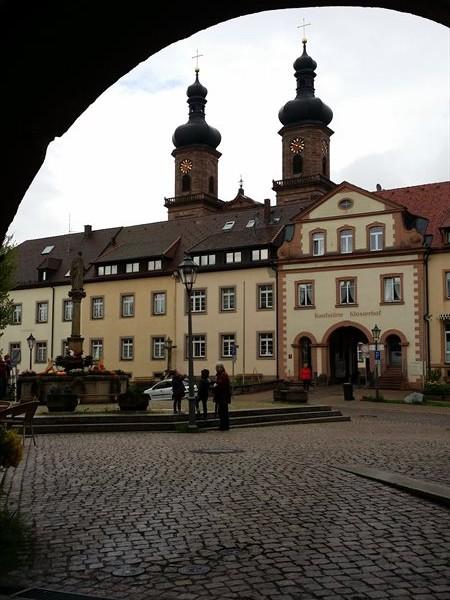 Blick auf Kloster St. Peter im Hochschwarzwald
