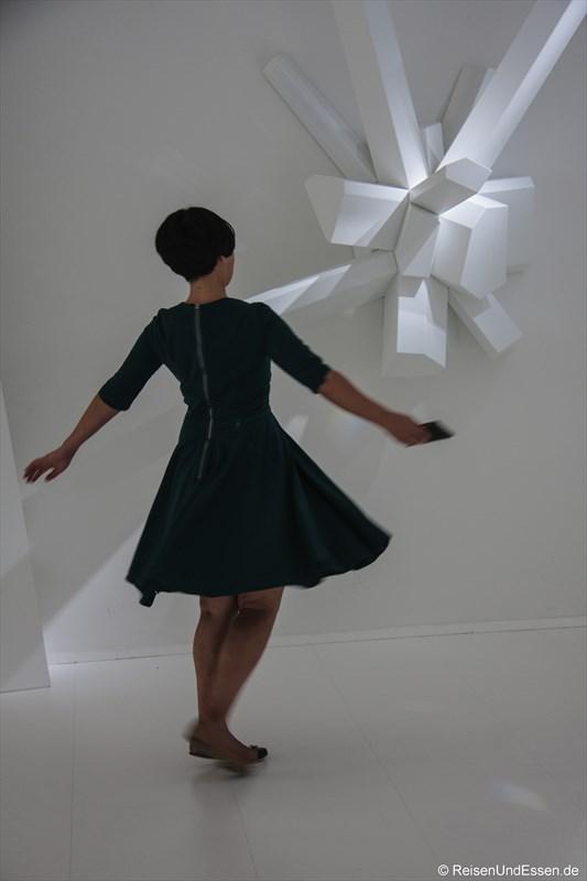 Ein Tanz in den Kristallwelten von Swarovski