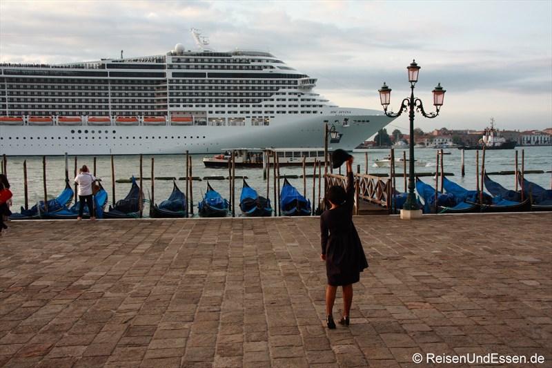 Willkommen in Venedig Kreuzfahrer