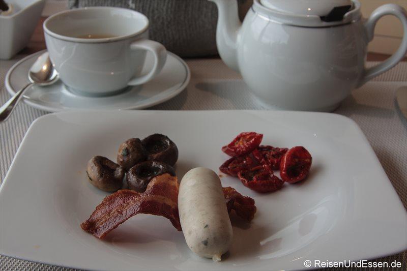 Weisswurst zum Frühstück im 3'60° Restaurant