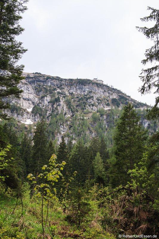 Unser Wanderziel: der Kehlstein