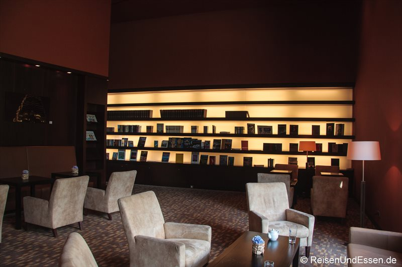 Bibliothek im Intercontinental Berchtesgaden Resort