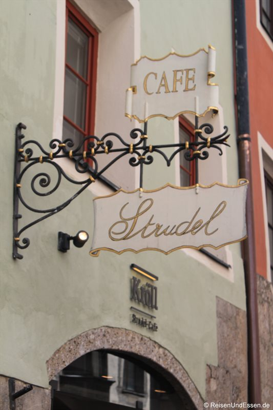 Cafe Strudel in Innsbruck