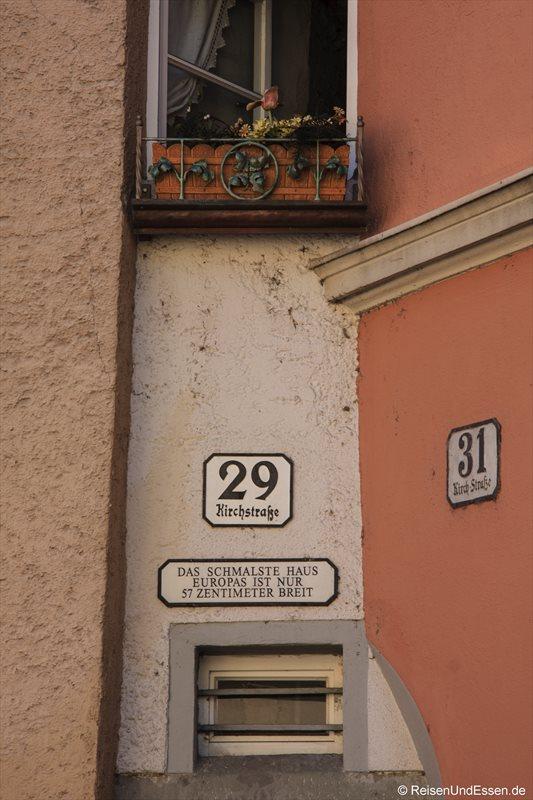Das schmalste Haus in Europa