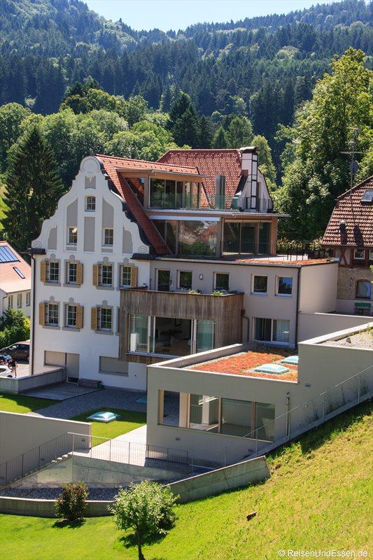 Modern und alt in einem Haus