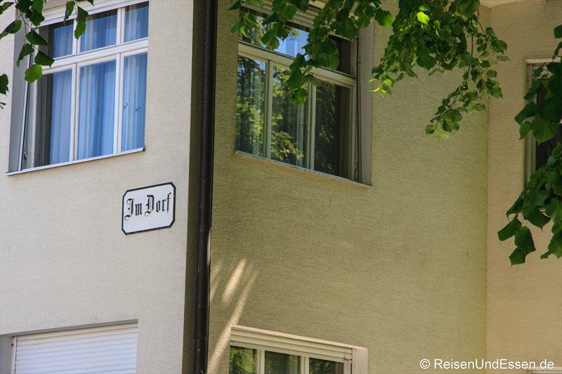 Straßenname in Bregenz