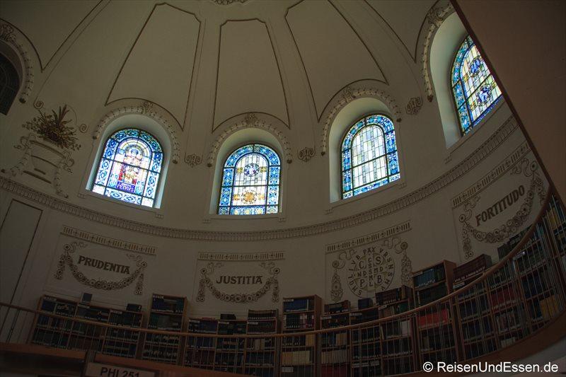 Kuppel in der Landesbibliothek Vorarlberg