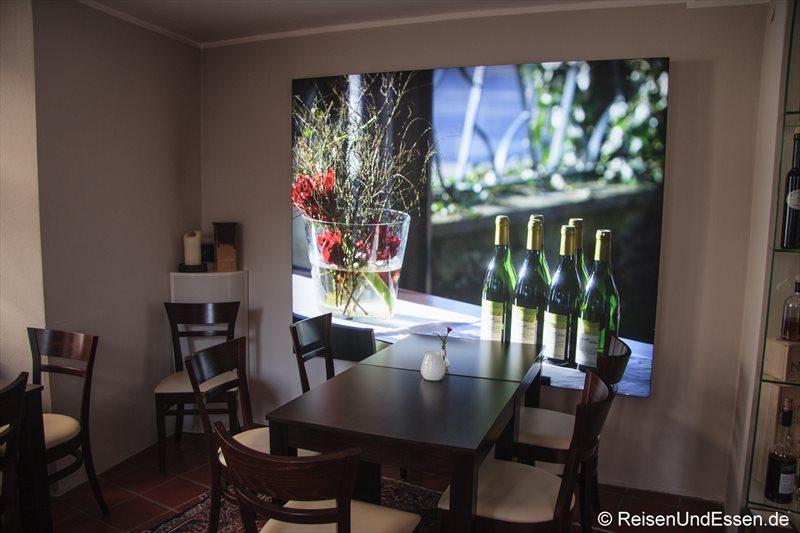 In der Weinstube Kinz in Bregenz
