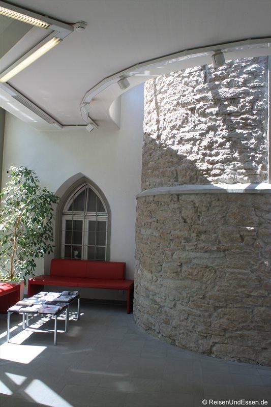 Foyer in der Landesbibliothek Vorarlberg in Bregenz