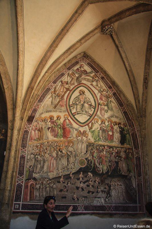 Fresken in der St.-Magdalenen-Kapelle