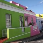 Der Touristenmagnet Waterfront und bunte Häuser in Bo-Kaap in Kapstadt