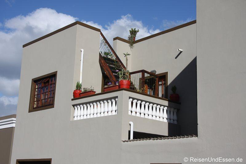 Haus im Stadtteil Bo-Kaap in Kapstadt