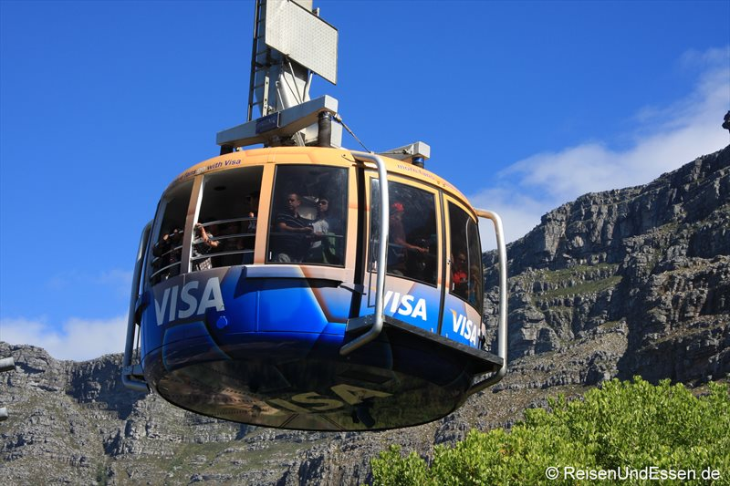 Seilbahn auf den Tafelberg