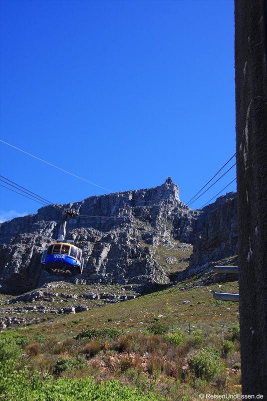 Talstation der Seilbahn zum Tafelberg