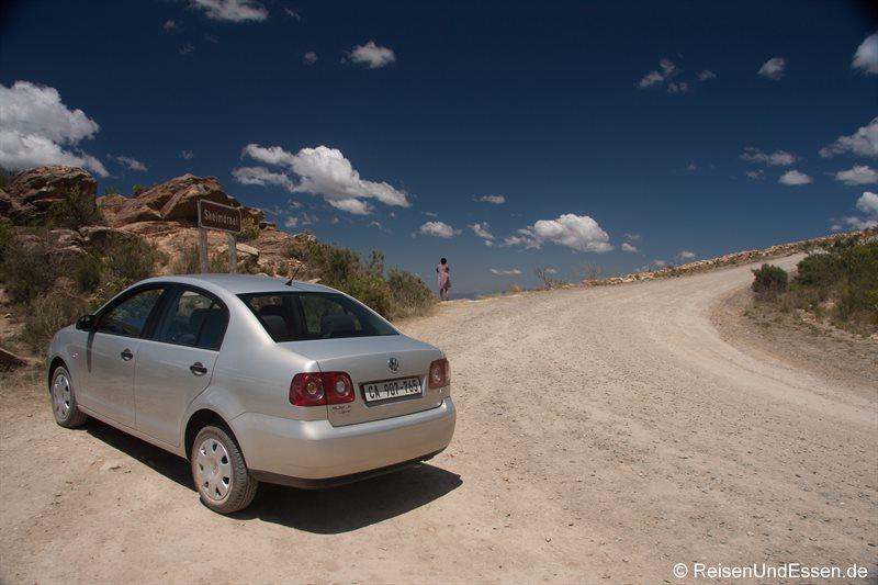 Fotostopp am Swartberg Pass (aus Richtung Oudtshoorn)