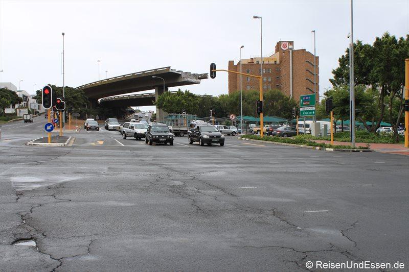 Fehlplanung eines Highway in Kapstadt