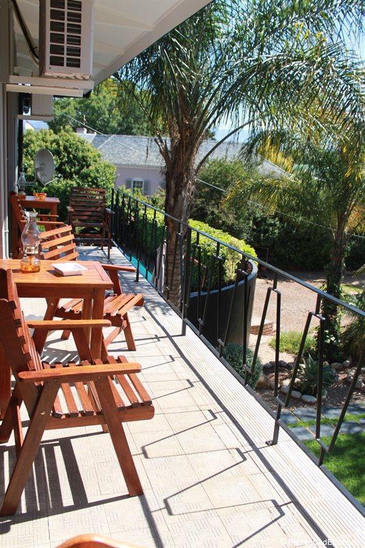 Balkon im Miles Guest House