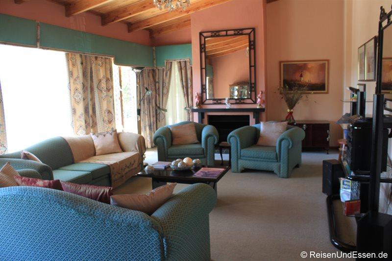 Wohnzimmer im Miles Guest House