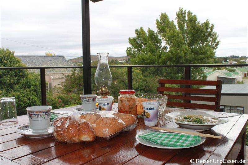 Unser Frühstück im Miles Guest House
