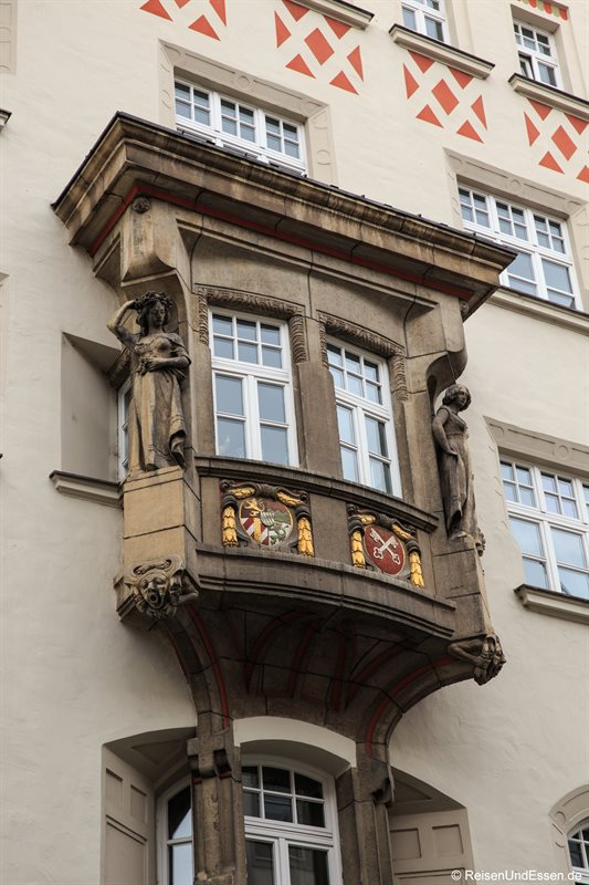 Erker in der Maximilianstraße