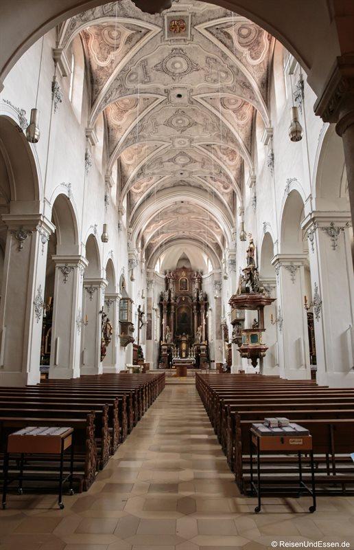 Blick in die Dompfarrei St. Ulrich