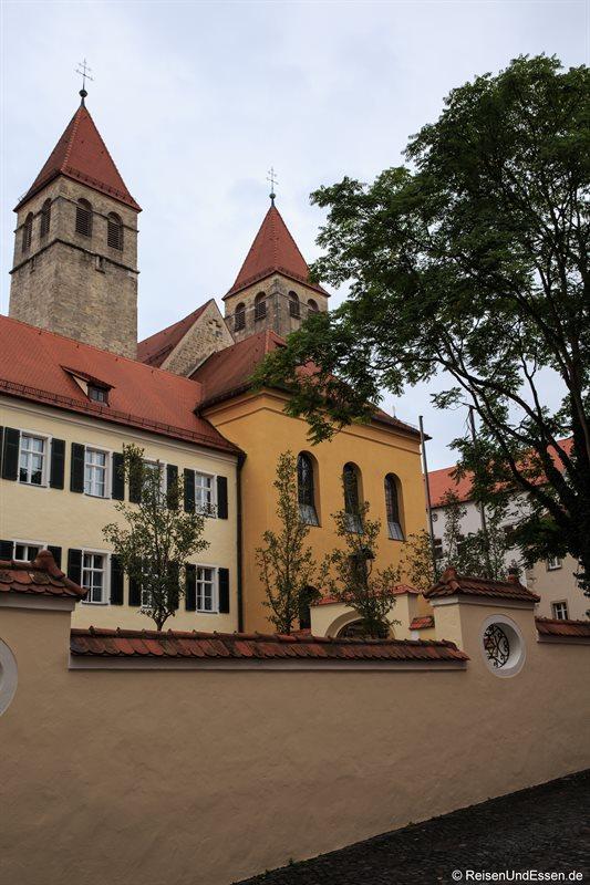 Blick auf die Dompfarrei St. Ulrich