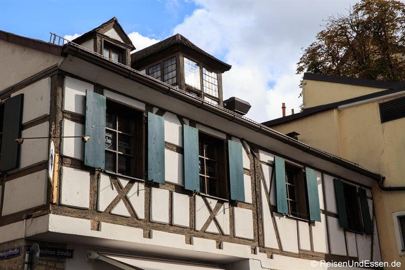 Fachwerkhaus in der Ludwigsstraße
