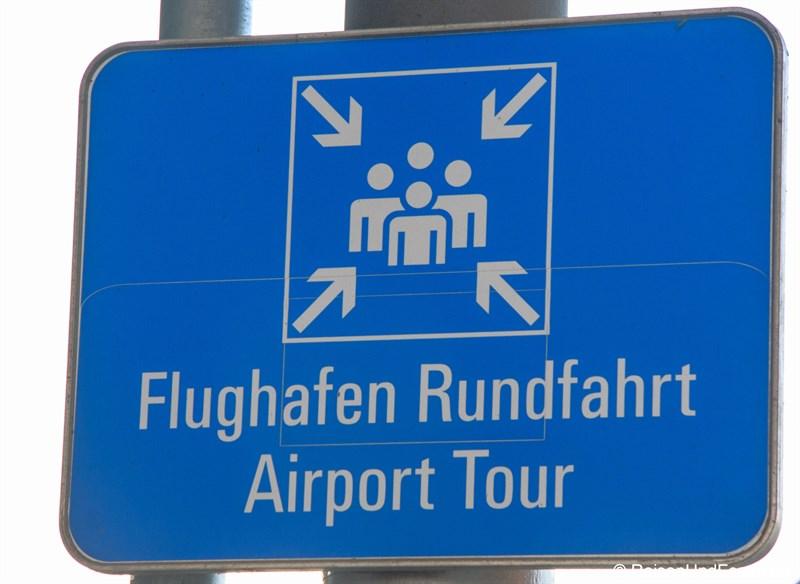Treffunkt Flughafen Rundfahrt am Besucherpark