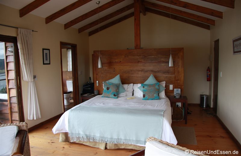 Lagoon Suite in der Elephant Hide of Knysna Guest Lodge