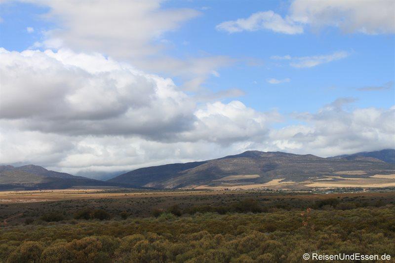 Landschaft auf der Fahrt Richtung Outiniqua-Pass