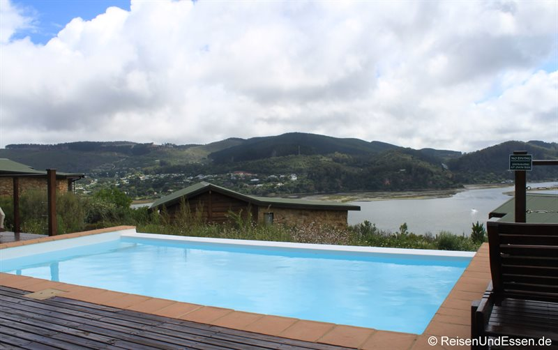Swimmingpool in der Elephant Hide of Knysna Guest Lodge