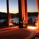 Suite mit Ausblick in der Elephant Hide of Knysna Guest Lodge