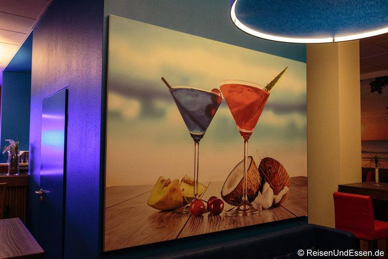 Blu Lounge im Radisson Blu in Karlsruhe