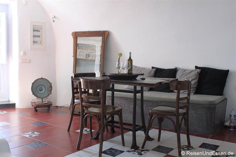 santorin 0584 esstisch und sofa im wohnbereich reisen und essen. Black Bedroom Furniture Sets. Home Design Ideas
