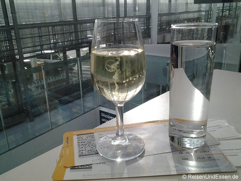 Start in den Urlaub in der Lufthansa Lounge am Flughafen München