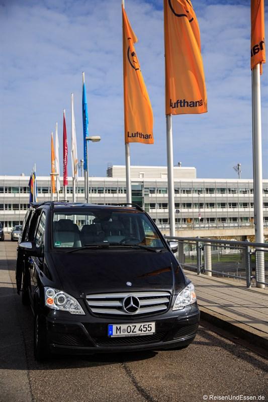 Ankunft mit Fahrservice Blacklane am Flughafen München