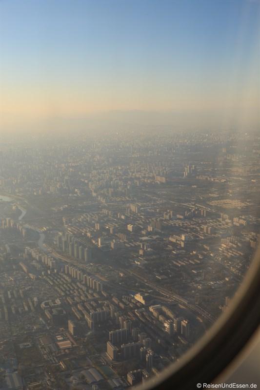 Blick auf Beijing