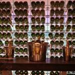 Champagner-Kühler im Weinturm