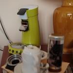 Nespresso-Maschine in der Suite
