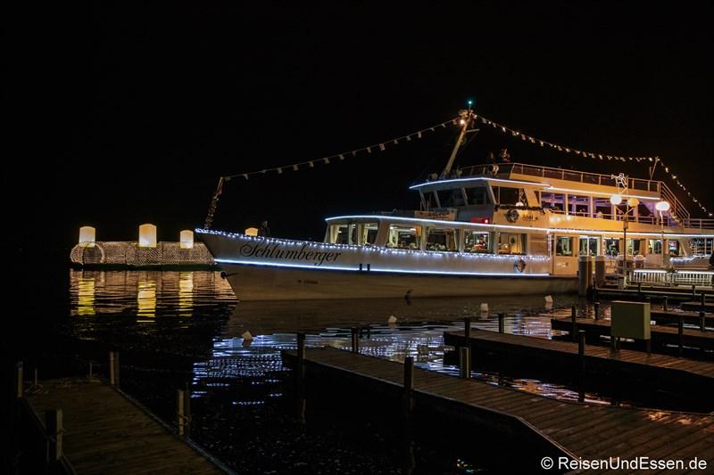 Adventsschiff in Velden