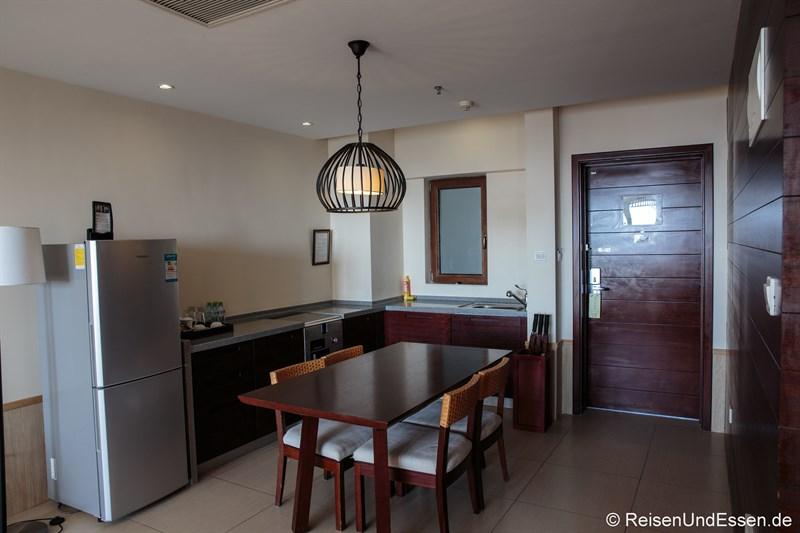 Küche im Serenity Coast all Suite Resort Sanya