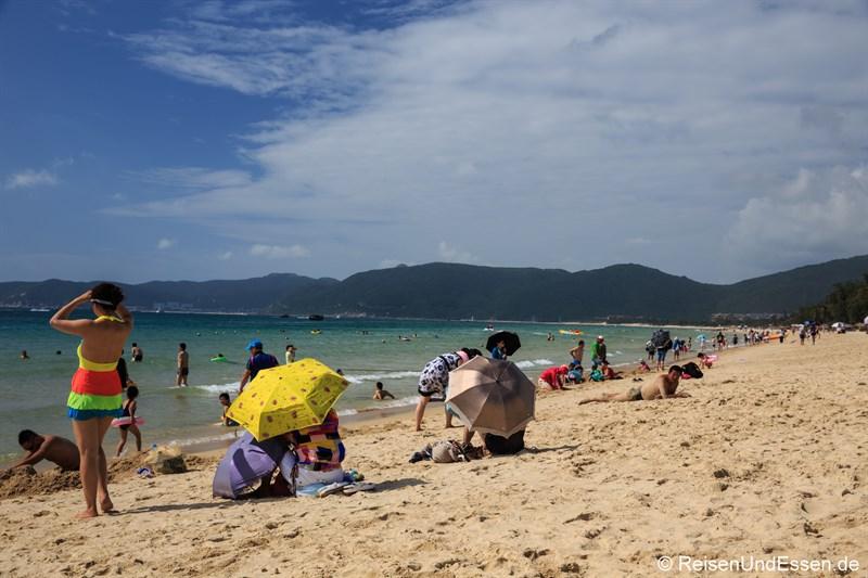 Strand in der Yalong Bucht